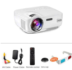 AUN Upgraded AM01S 1800 Lumens LED Projector
