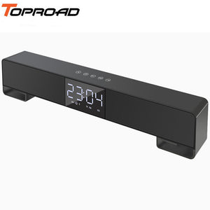 TOPROAD Wireless Soundbar Stereo Bass Bluetooth Speaker