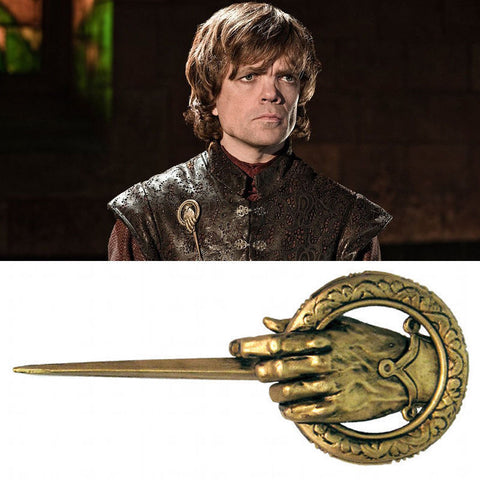 Game of Thrones Hand of the King Cosplay Badge Metal Alloy Brooch Pin