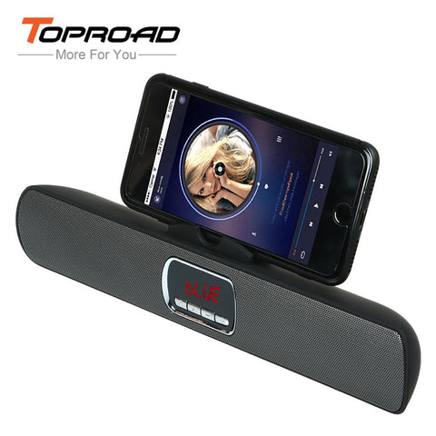 TOPROAD Portable Wireless Bluetooth Speaker