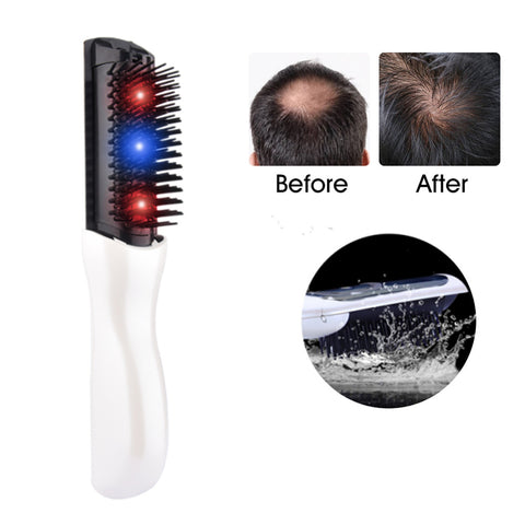 Electric Laser Comb Therapy Promote Hair Growth Massage Equipment