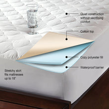 Quilted Water Proof Mattress Protector