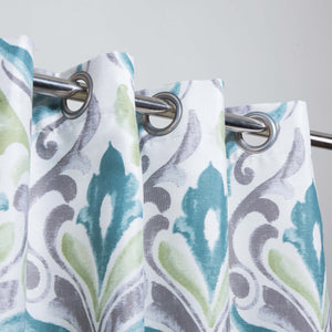 Multi Motif - Duck Cotton Curtain Single Panel