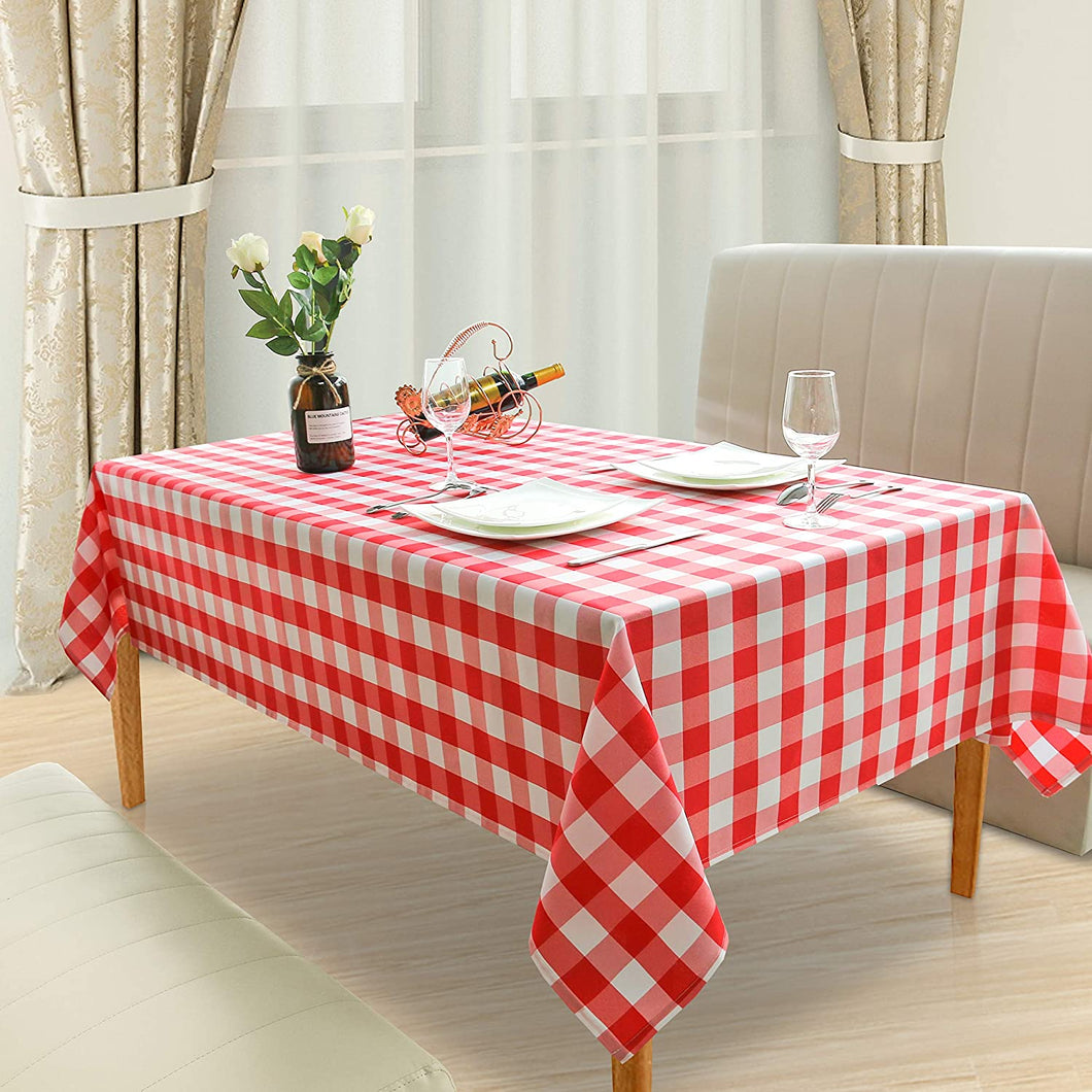 Dining Table Top 8 Person- Red & White
