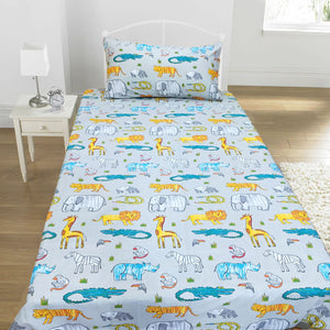 Zoo Kids Bed Sheet