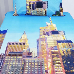 Sky Scrapper Kids Bed Sheet