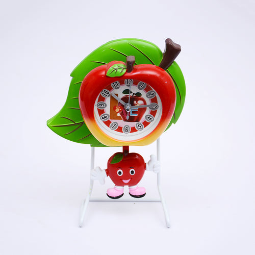 Leaf design Kids Table Clock With Stand