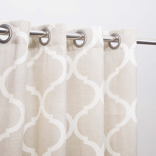 Last 3 left Extra Discount -Duck Cotton Curtain with lining