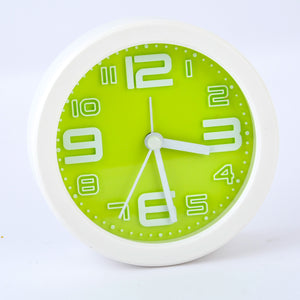 Round Shape Table Clock with Alarm