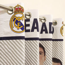 Kids Room Real Madrid Cotton Curtain