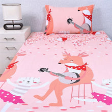 Forest Party Kids Bed Sheet