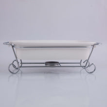 Baking Plate With Metal Stand
