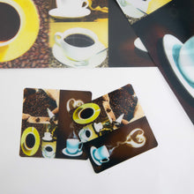Plastic Mat 3D Coffee Cup Design 4 PCs