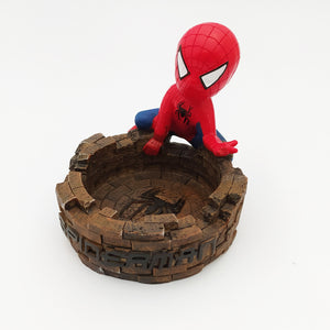 Spider Man Ashtray Brown