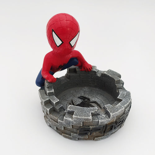 Spider Man Ashtray Grey
