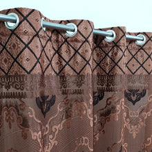 See Through Light Weight Jacquard Curtain