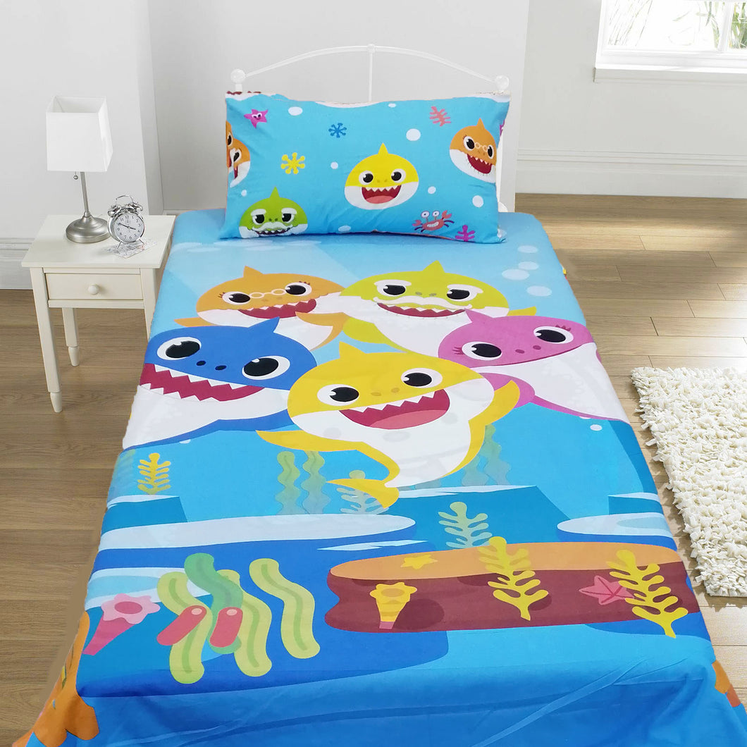 Underwater World Kids Bed Sheet