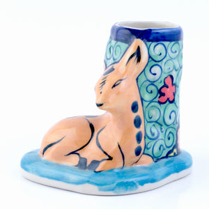 Pottery Pencil Holder
