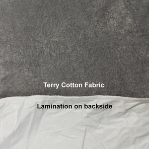 Water Proof Mattress Protector Terry Cotton Grey
