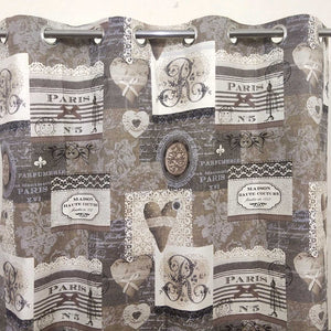 Romeo In Paris Duck Cotton Curtain