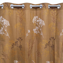 Winter Leaves Duck Cotton Curtain