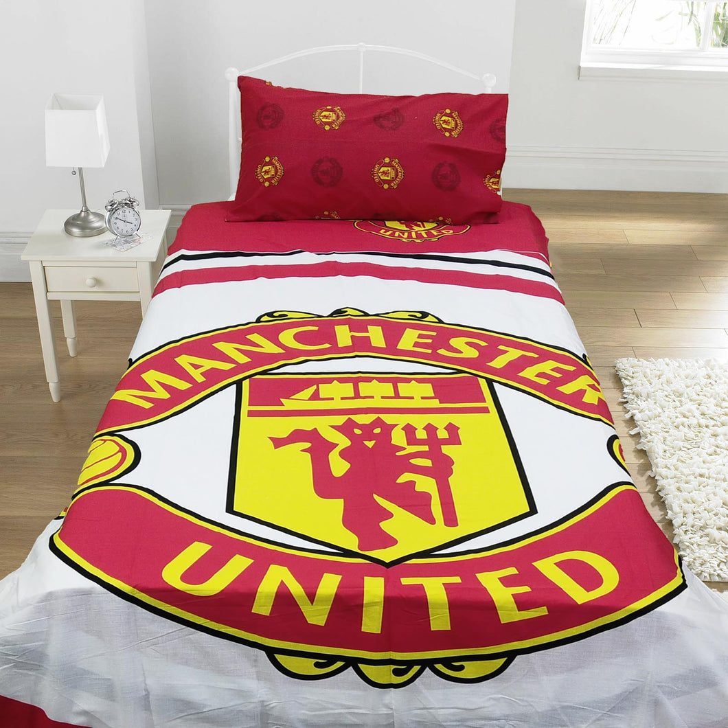 Manchester United  Kids Bed Sheet