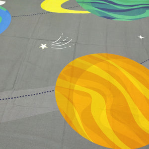 Galaxy   Kids Bed Sheet
