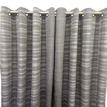 Matrix Duck Cotton Curtain Grey