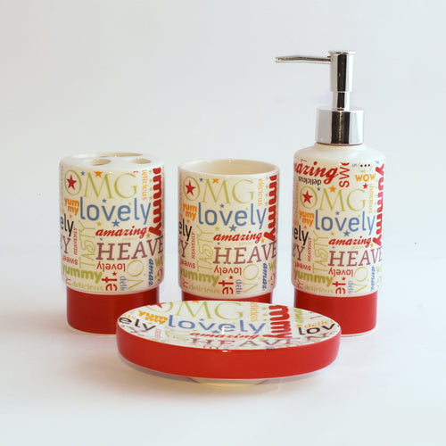 Heaven Ceramic Bath Set
