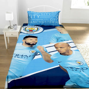Manchester City Kids Bed Sheet