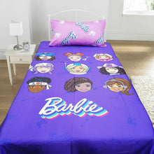Barbie Satin Kids Bed Sheet