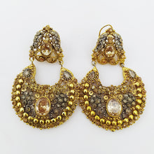 Colored Stones Jhumka