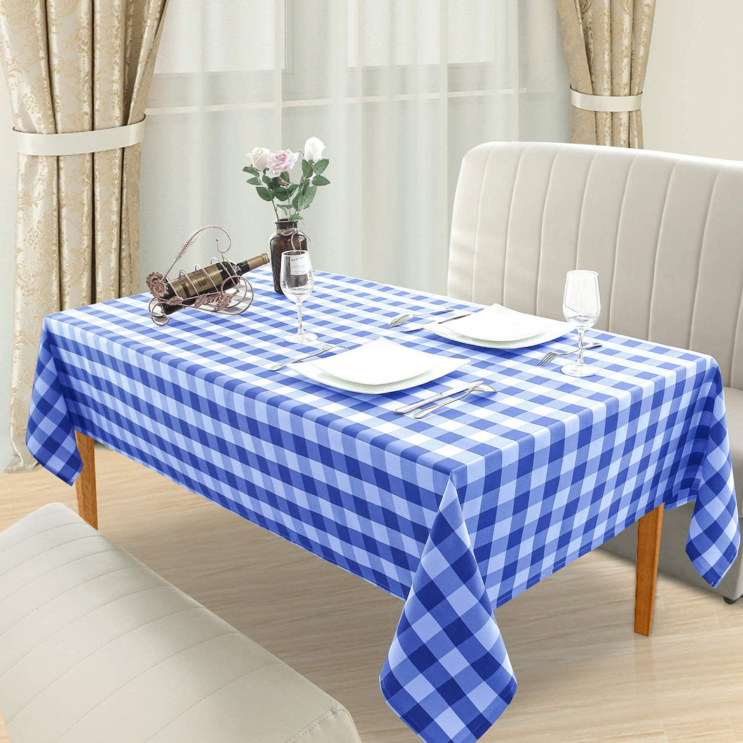 Dining Table Top - Blue & White
