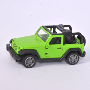 Green Jeep Model With Light & Music