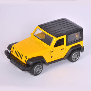Yellow Jeep Model With Music & Light