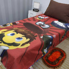 Super Mario  Kids Bed Sheet