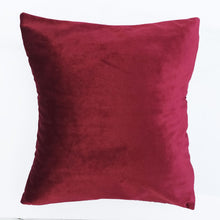 Plain Velvet Cushion Cover
