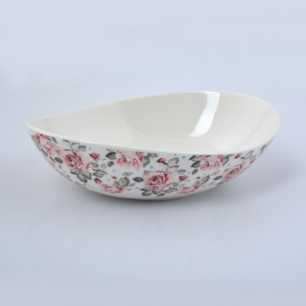 Oval Salad Bowl