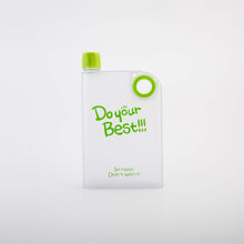 Depolished Notebook Portable Bottle