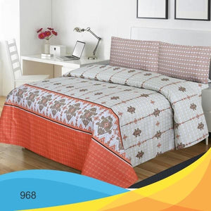 Bed Sheet With Two Pillow Cases