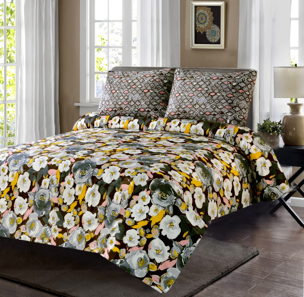 6 Pcs Comforter/Bed Spread Set