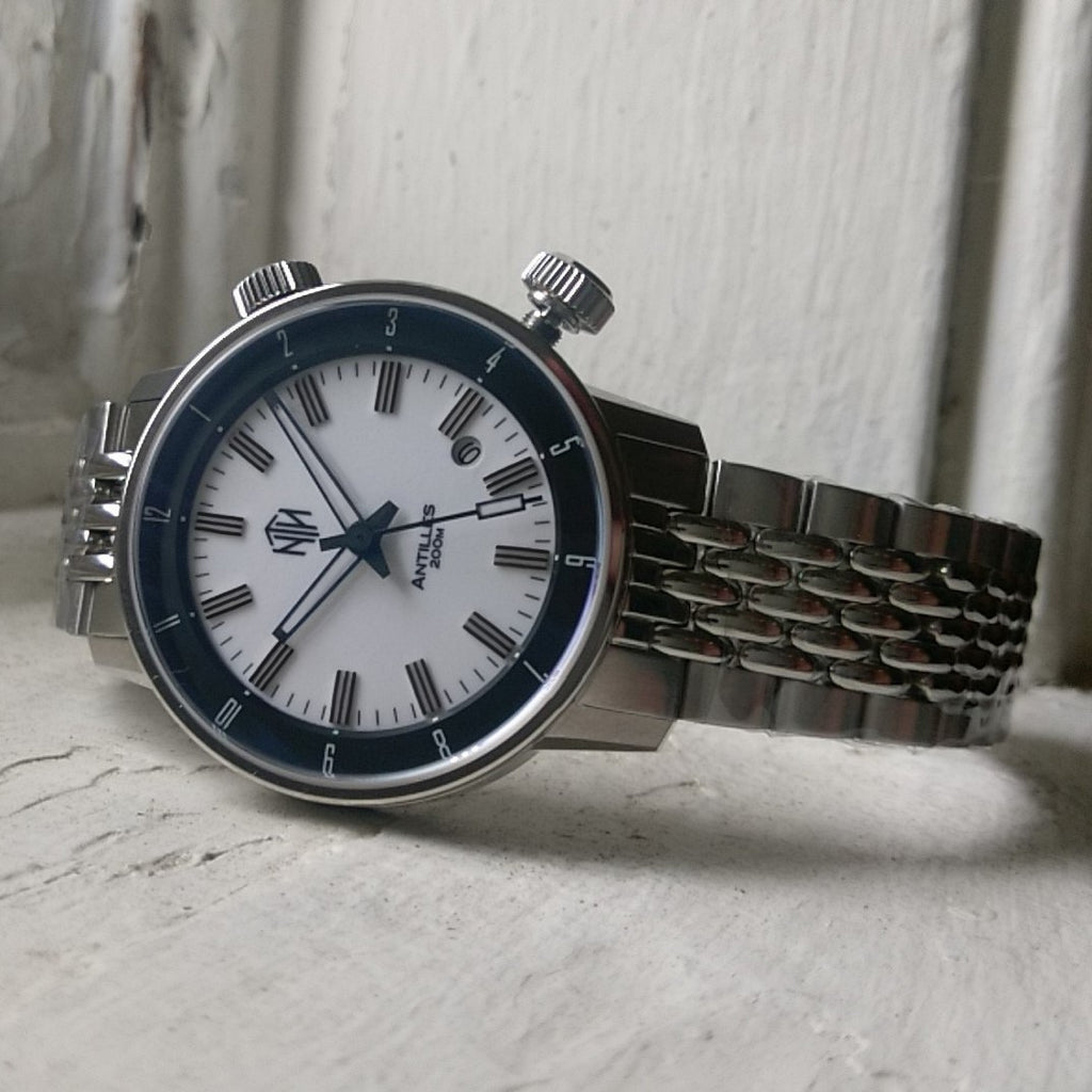 Antilles - White, with Date - NTH Watches