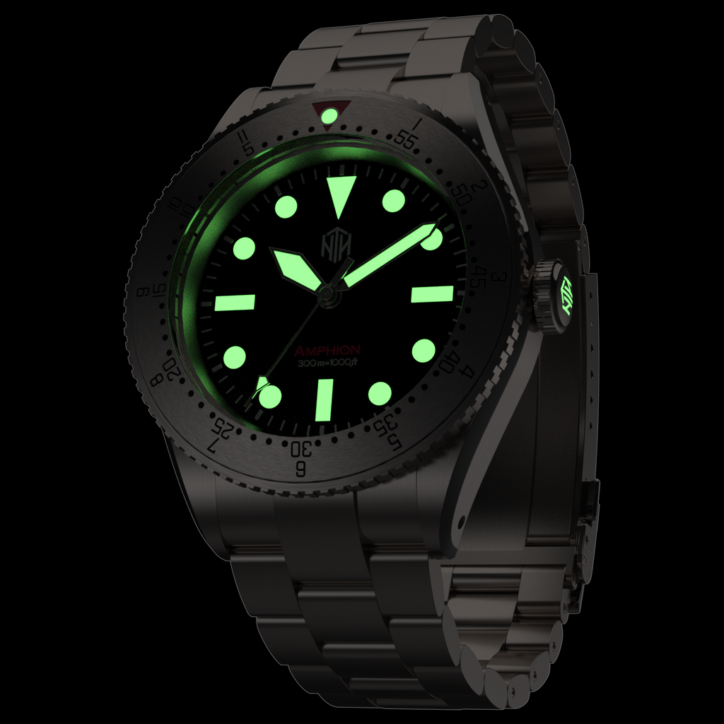 Amphion Commando - Black - NTH Watches