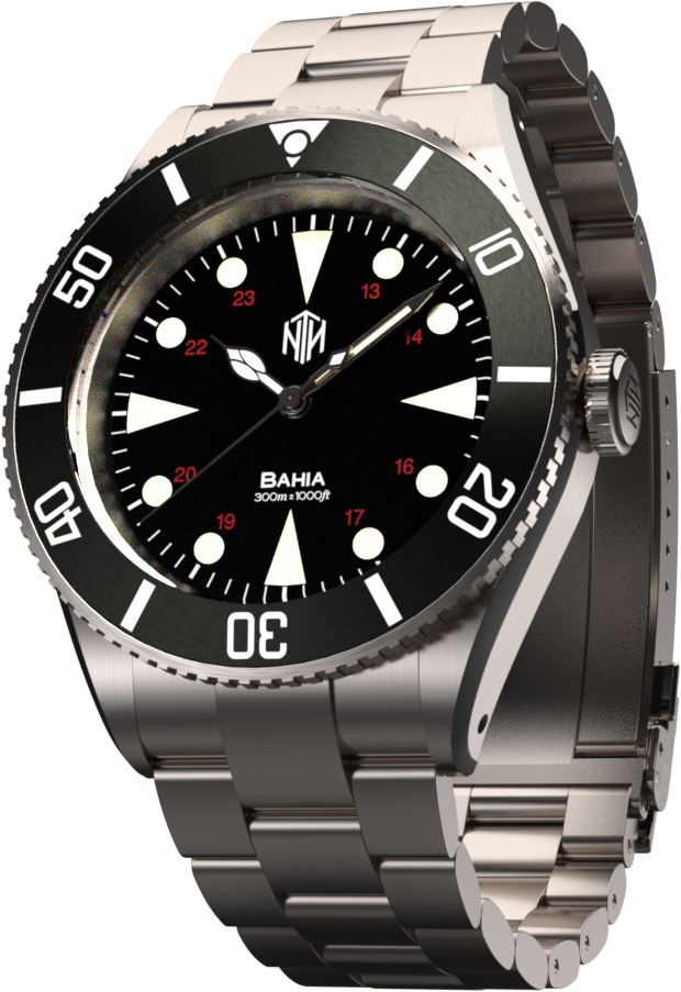 Bahia - Black - NTH Watches