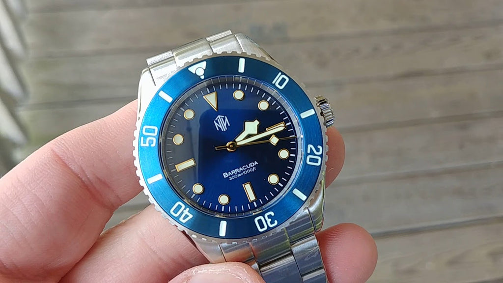 Barracuda - Blue - NTH Watches