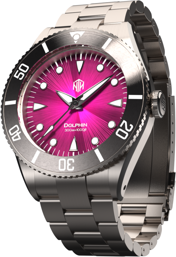 Dolphin - Magenta - NTH Watches