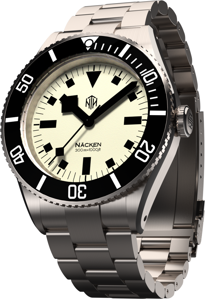 Näcken - White - Nearly New - NTH Watches