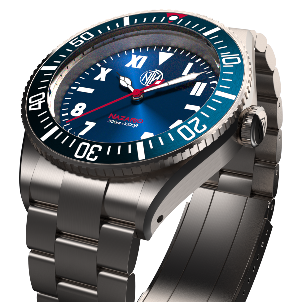 Nazario Azzurro - Available Only at Watch Gauge - NTH Watches