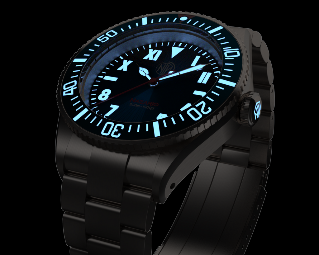 Nazario Azzurro - Available Only at Watch Gauge - Janis Trading