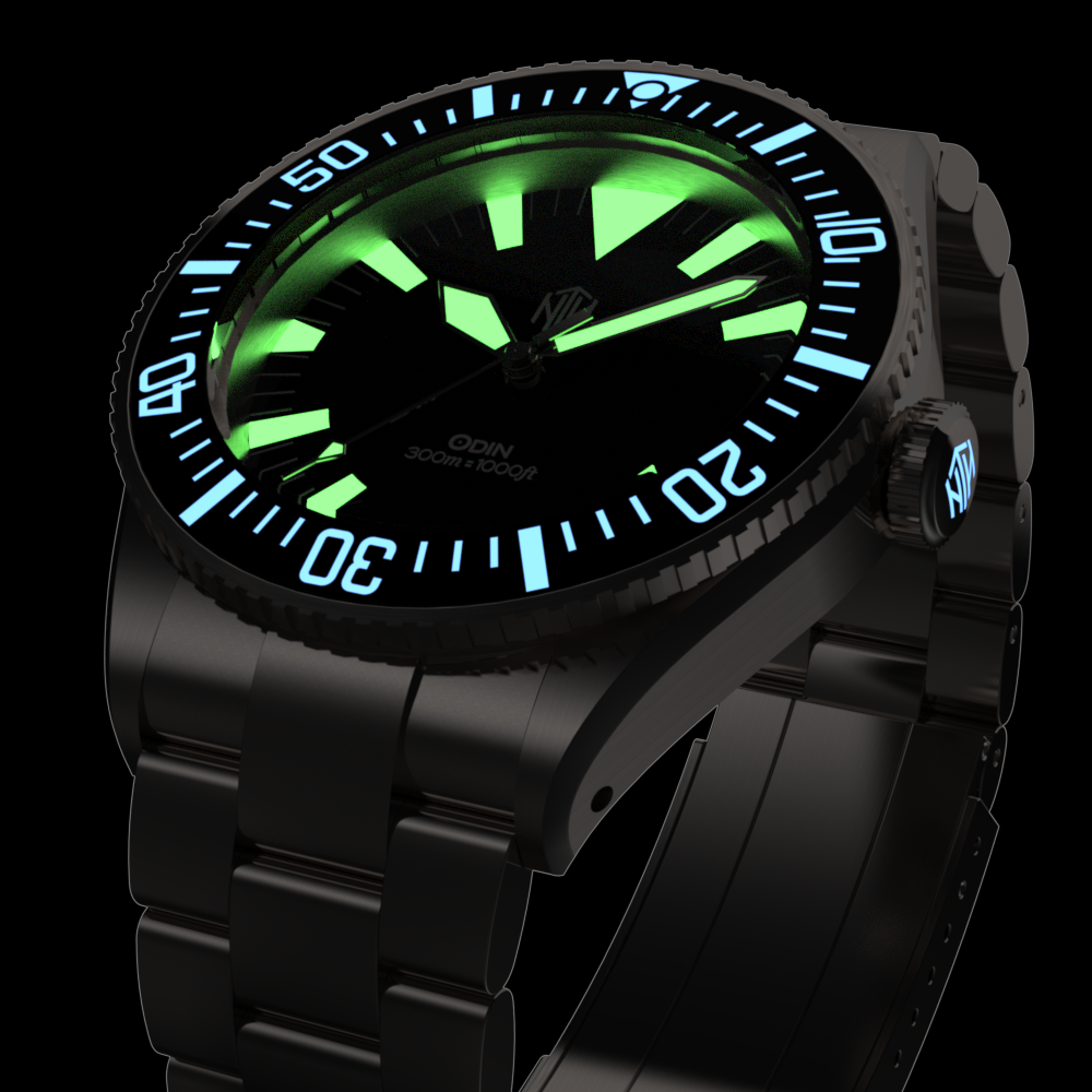 Odin - Black - NTH Watches